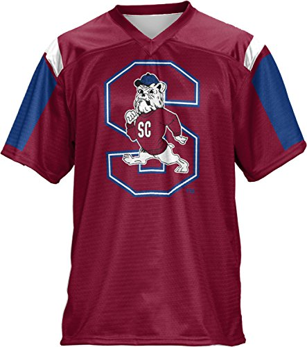 ProSphere South Carolina State University Men's Football Jersey (Thunderstorm) FCF41