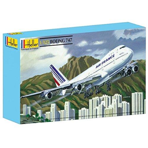 Heller Boeing 747 Airliner Airplane Model Building (Boeing 747 Jumbo Jet)