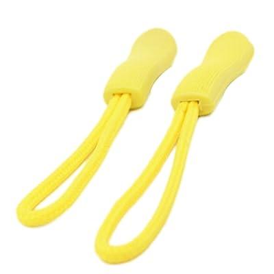 Chen rui Corde Fermeture à Glissière Antidérapant Clip Boucle Cordon Tirette Remplacement Accessoire Pour Vêtement Sac
