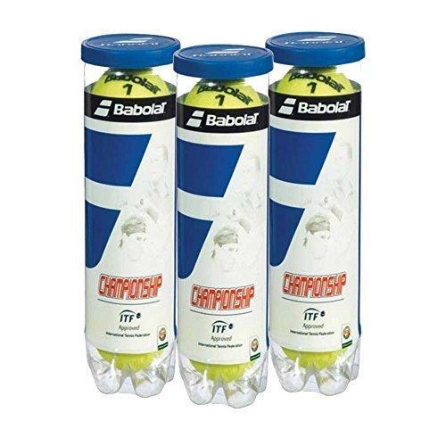 Babolat Championship Tennis Balls 4 balls in a tube - 3 tubes/ 1 Dozen YCSports