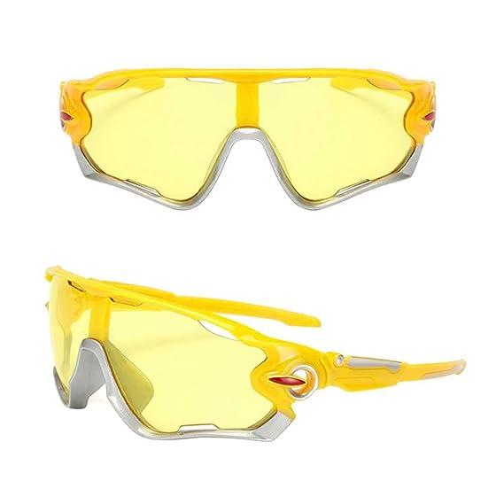 Logobeing Gafas de Sol Deportivas, Bicicletas Gafas de Sol de Ciclismo de Bicicleta al Aire Libre Gafas de Sol Polarizadas Eyewear (A): Amazon.es: Ropa y ...