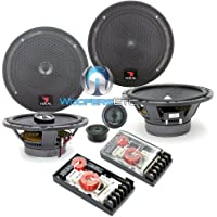 pkg Focal 165A1 6.5 120W RMS 2-Way Component Speakers System + 165CA1 6.5 2-Way Coaxial Speakers