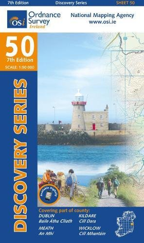 Irish Discovery Series 50. Dublin, Kildare, Meath and Wicklow 1 : 50 000