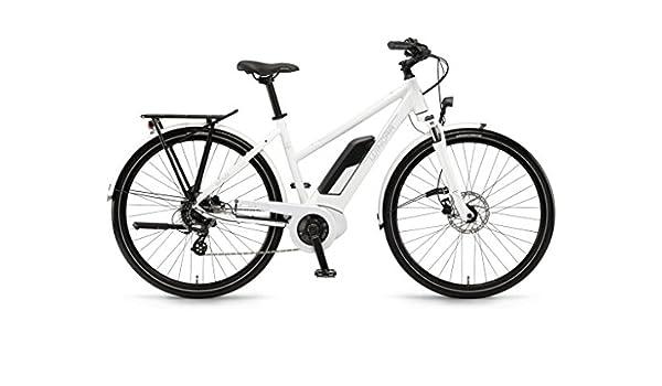 Unbekannt Winora Sinus Tria 7eco 400 WH Bosch bicicleta eléctrica 2018, color Weiss Damen, tamaño 28