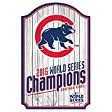 Chicago Cubs 2016 World Series Champions 11 x 17 Wood Sign