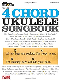 Amazon.com: The 4-Chord Ukulele Songbook: Strum & Sing Series ...