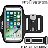 iPhone 7 Plus 6 Plus 6s Plus Armband, Portholic Cell Phone Workout Arm Band for Samsung Galaxy...