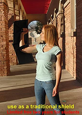 Novel Stab & Bulletproof Carry-on Shields for Student/Civilian's Active Shooter Self Defense, Security & Personal - Nij Ballistic Levels