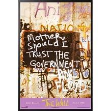 Pink Floyd - Berlin Wall 24x36 Wood Framed Poster Art Print Music The Wall
