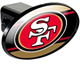 tow hitch cover sf - NFL San Francisco 49ers Trailer Hitch Cover