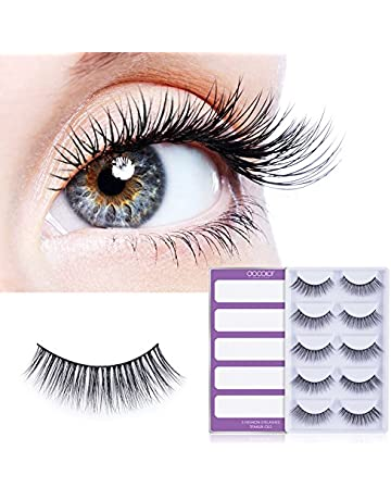 False Eyelashes 3 Pairs False Eyelashes Wispy Fluffy Thick Long Fake Eye Lashes With 1 Pc Tweezer Handmade Natural Eye Extension Makeup Tools Suitable For Men And Women Of All Ages In All Seasons Beauty & Health