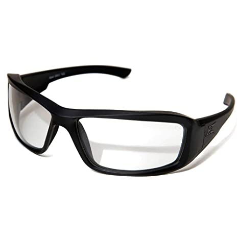 38432f3995 Image Unavailable. Image not available for. Color  Edge Tactical Eyewear  XH611 Hamel Matte Black with Clear Lens
