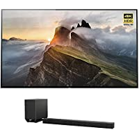 Sony XBR65A1E 65 4K Ultra HD Smart Bravia OLED TV (2017 Model) w/ Sony HT-ST5000 7.1.2ch 800W Dolby Atmos Sound Bar