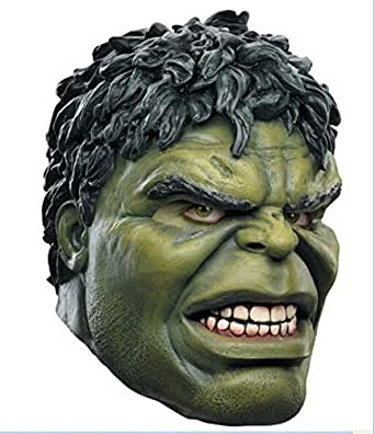 Hulk Deluxe Latex Mask Costume Full Face Adult Mask Halloween