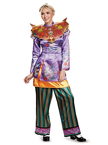 Asian Women Costume (Disney Women's Alice Asian Look Deluxe Costume, Multi,)