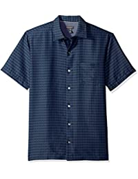 Men's Printed Rayon Short Sleeve Shirt