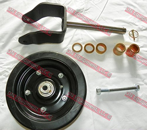 Complete Replacement Wheel/Fork for Caroni Finish Mower Fits TC 480,590,710,910