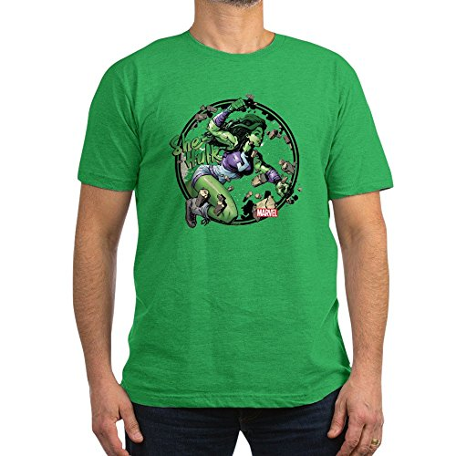 CafePress She Hulk Punching T Shirt Stylish