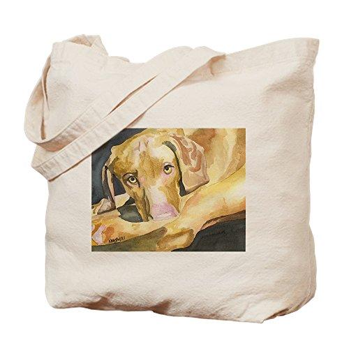 CafePress–vizsla102903–Gamuza de bolsa de lona bolsa, bolsa de la compra