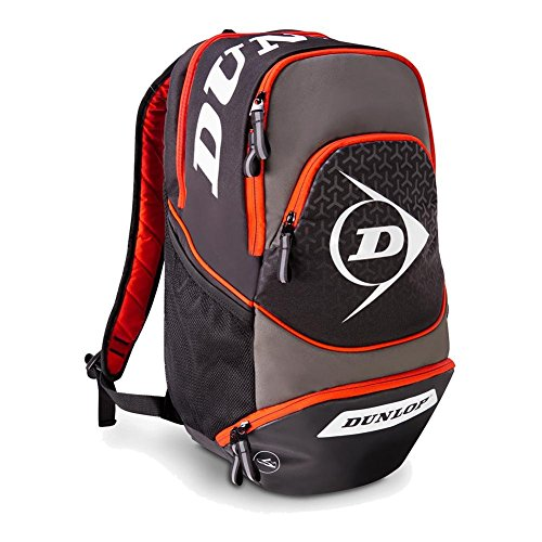 DUNLOP – Performance Tennis Backpack Gray Red – (817239US)