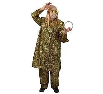 Disfraz de Rappel para adulto, incluye peluca y gafas.