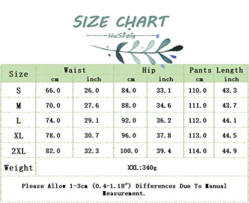 LROSEY Women's Sexy Button Down Stretchy Straight Leg High Waisted Long Pants Flare Trousers Plus Size Black