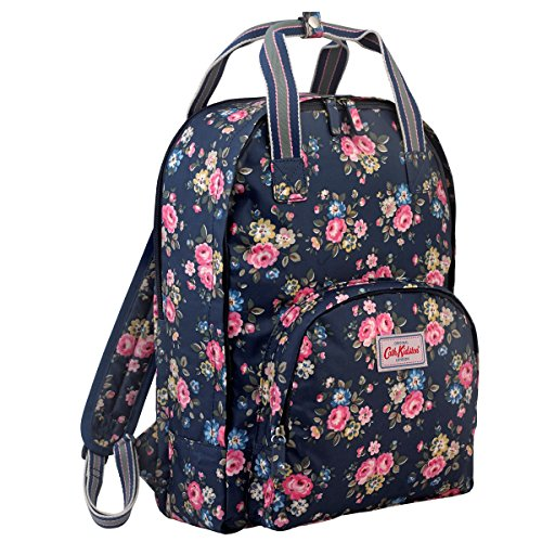Cath Kidston Rose - Cath Kidston Matt Oilcloth Multi Pocket Backpack Fitting 13