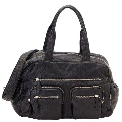 OiOi Carry All Diaper Bag - Black Lizard by OiOi by OiOi