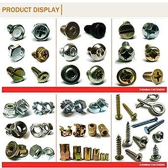 50pcs 304 Stainless Steel Threaded Sleeve kit,T0121 1d 1.5d 2D 2.5d 3D Each 10pcs Thread Repair Fasteners Ochoos m71.0P