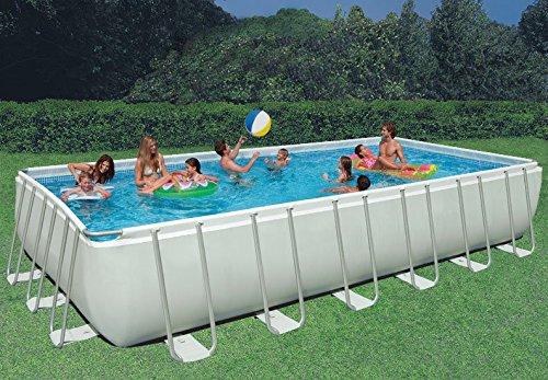 Intex 32 39 X 16 39 X 52 Ultra Frame Rectangular Swimming