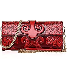 LuxuryLady-6 Chinese Style Mini Wallet Delicate Slight Easy Taking Big Space Women Leisure Handbag