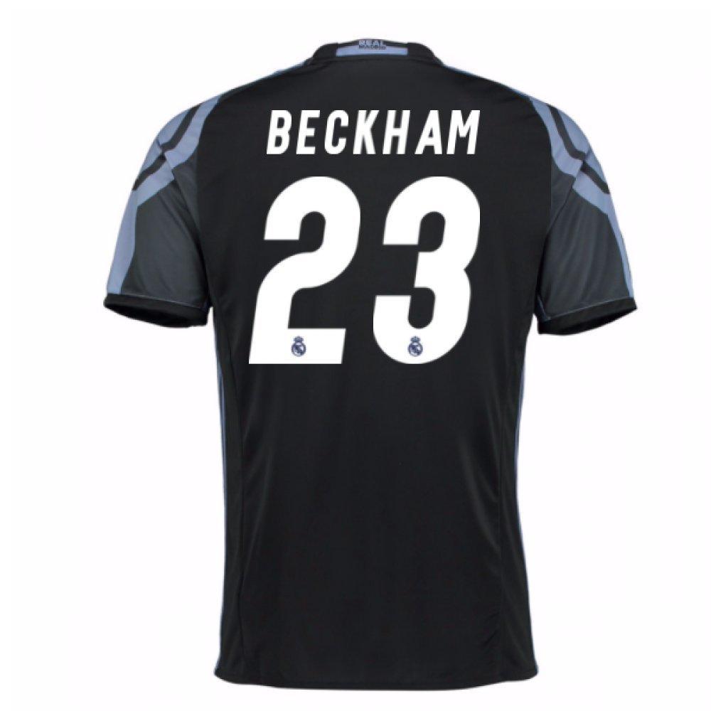 2016-17 Real Madrid 3rd Football Soccer T-Shirt Trikot (David Beckham 23) - Kids