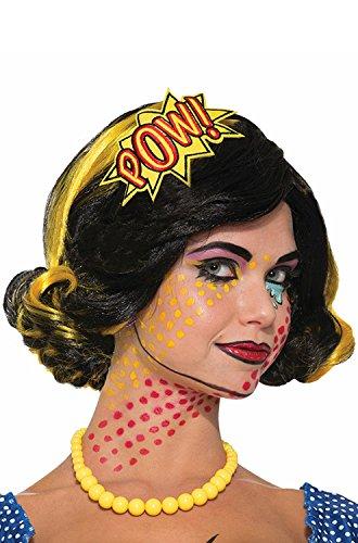 Forum Pow Comic Pop Art Headband One Size Fits - Pop Pow