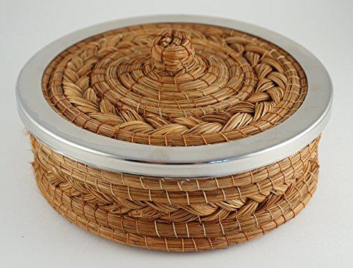 Handmade Pine Needle Tortilla - Maple Desk Pine