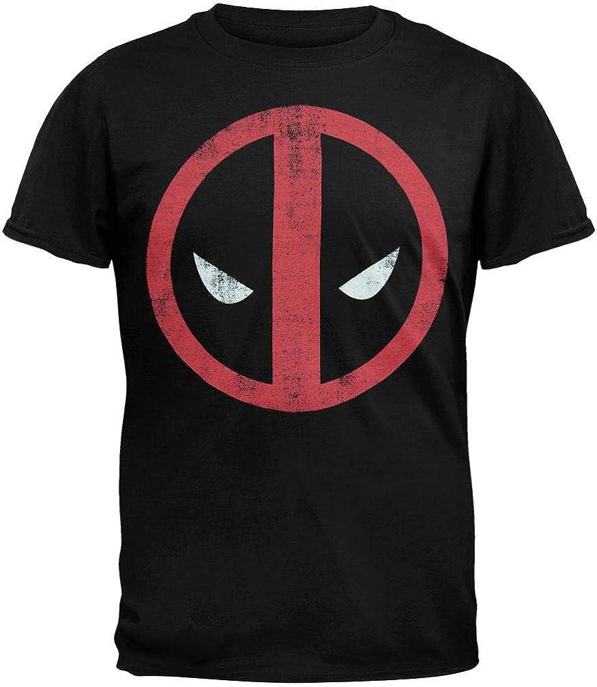 Deadpool Vintage Men/'s T-shirt Black