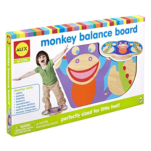 Balance Board Uae: Wooden Monkey Balance Board - Buy Online In UAE.