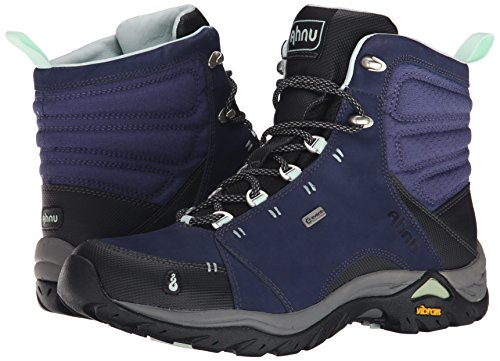 Ahnu Women's Montara Waterproof Boot,Midnight Blue,8.5 M US
