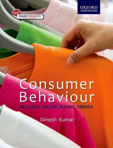 Consumer Behavior: Includes Online Buying Trends