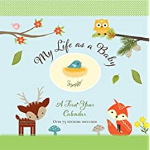My Life as a Baby: A First Year Calendar (Woodland Friends)