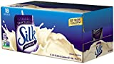 natural almond milk - Silk Very Vanilla Soymilk Natural, 8-Ounce Containers (Pack of 18)