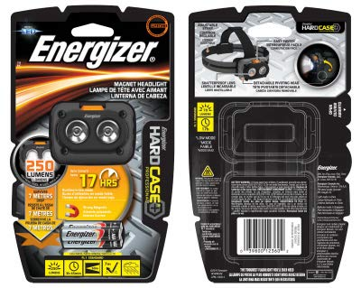 - Eveready Battery HCHDM32E HD Case Magn Head Lamp - Quantity 4