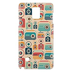 Loud Universe Galaxy Note 5 Retro Jukebox Print 3D Wrap Around Case - Multi Color
