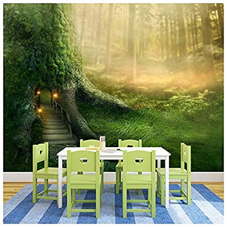 Amazon Com Magical Tree House In Enchanted Forest Fantasy
