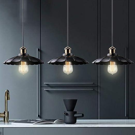 Amazon.com: Lámpara de techo industrial vintage, lámpara de ...