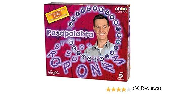Juegos de Sociedad Telecinco - Pasapalabra Adultos (Famosa 700010990): Amazon.es: Juguetes y juegos