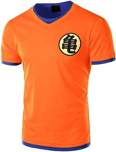 Camiseta de Dragon Ball Hombres Summer Top Dragon Ball Z Super Son Goku Cosplay Camisetas Divertidas Anime Dragonball Camiseta Top: Amazon.es: Ropa y accesorios