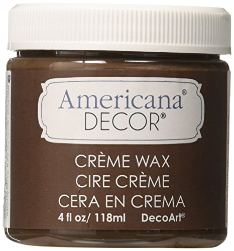 Deco Art Americana Decor Creme Wax, 4-Ounce, Deep Brown from DecoArt