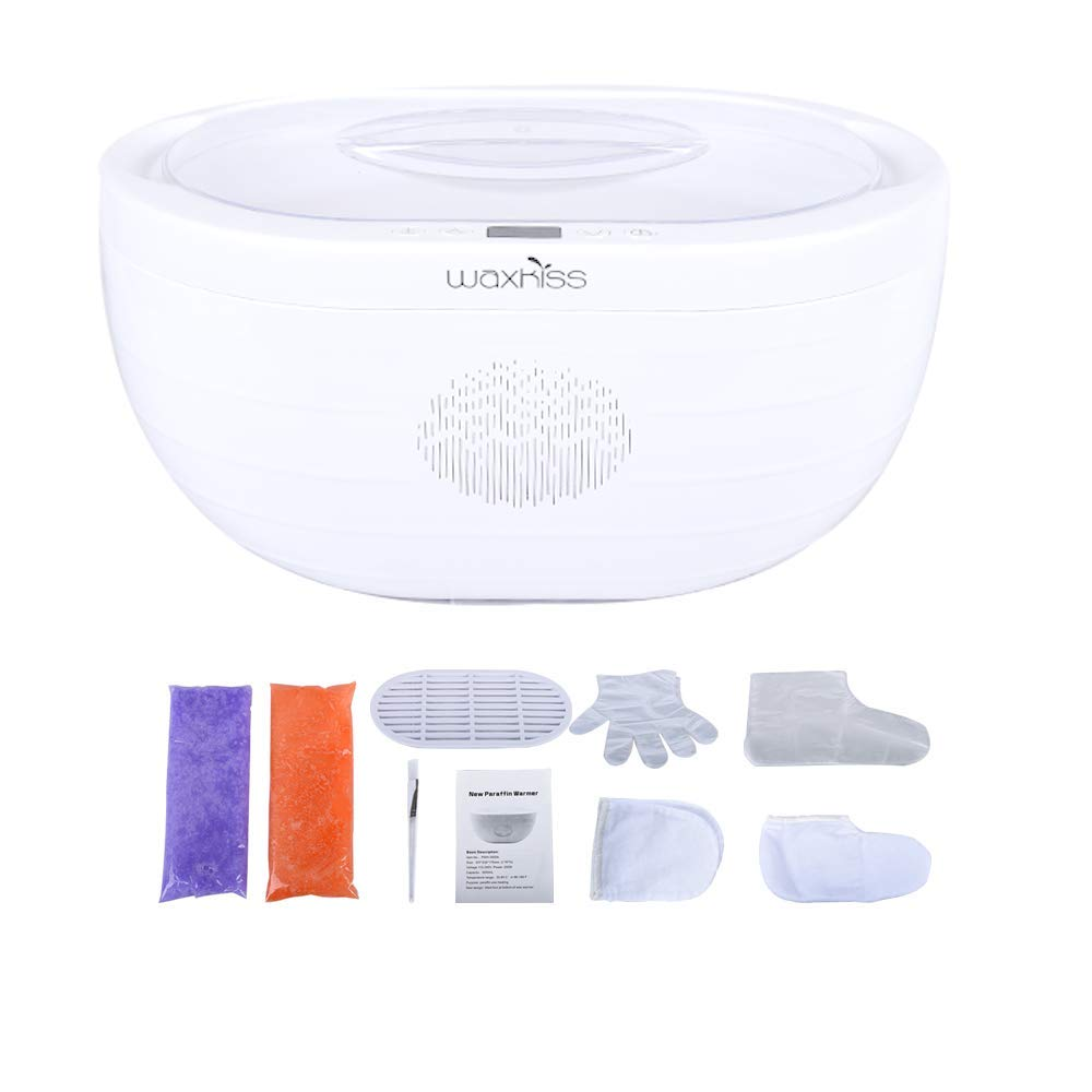 Paraffin Wax Machine for Hand and Feet,Wax Warmer with 2 Packs Paraffin Wax for Paraffin Bath to Moisturizing & Soothing Skin (PWH-3000A)