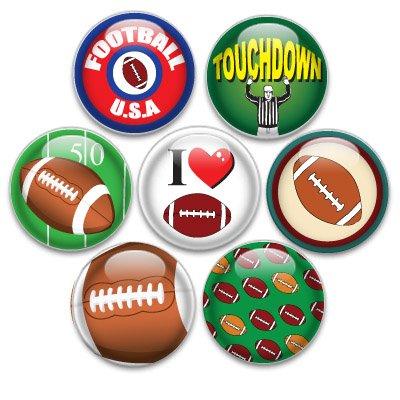 Decorative Magnets 7 Small Football (Football Refrigerator)