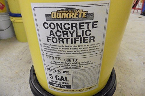 Quikrete Commercial 17315 Concrete Acrylic fortifier 861005 5 gal from Quikrete